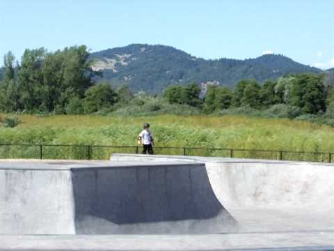 Skateboard Park in Willits, CA