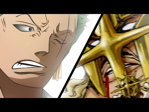 One Piece 754 Manga Chapter ワンピース Review -- Zoro Vs Pica Finale = 1080 Pound Cannon + Kanjuro Found
