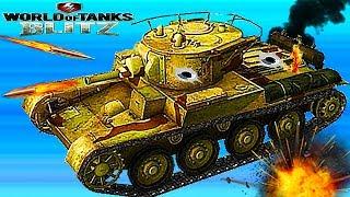 WORLD OF TANKS #10 Крутая танковая игра Т-46 Советская ветка.Первые бои.Новое видео для детей