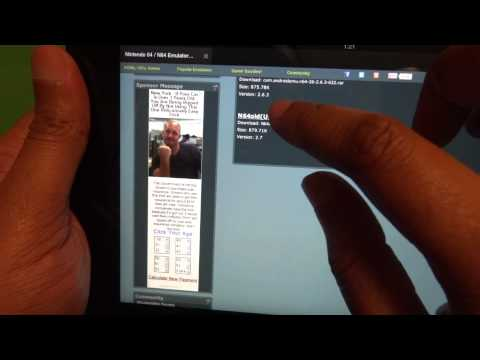 Kindle Fire HD 8.9  how to download & install N64 & other Emulators the Easy way ( No Root )