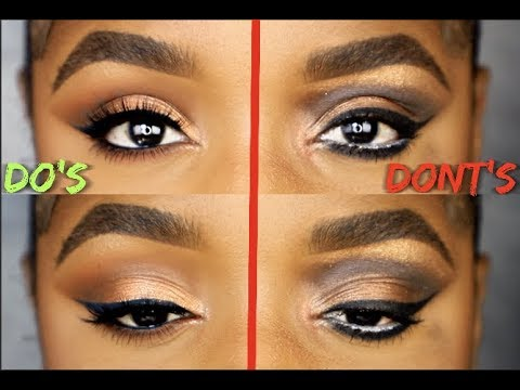 EYESHADOW DO'S AND DONT'S   Ellarie