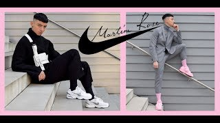 Martine Rose Nike Air Monarch White & Pink | Review & Lookbook