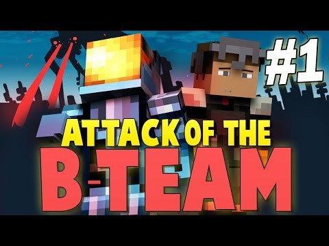 Minecraft Attack of the B-Team #1   I CRASHED MY SPACESHIP! - Minecraft Mod Pack Survival