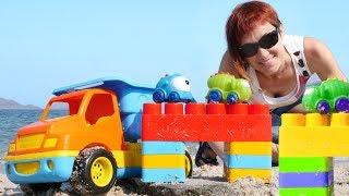 Веселая Школа Капуки Кануки - Видео для детей. Маша Капуки Кануки и игры в машинки.