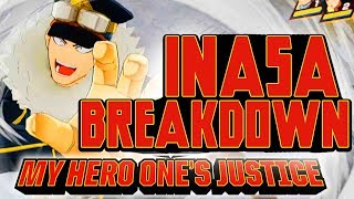 "Inasa Yoarashi ""Gale Force"" DLC Gameplay Breakdown & Combos! My Hero One's Justice"