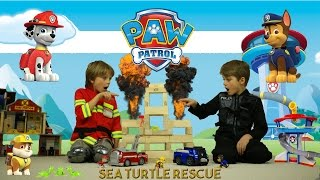Paw Patrol toys on Fire!
