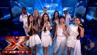 The Final 5 perform Michael Jackson's Earth Song | Week 5 Results| The X Factor 2015