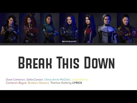 Break This Down - Descendants 3 Cast (Color Coded Lyrics)