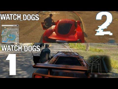 Watch Dogs 2 VS Watch dogs Сравнение ДОРЕЛИЗНОЕ: Графика, Геймплей.