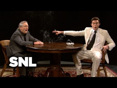 Vinny Talks to Robert De Niro - Saturday Night Live
