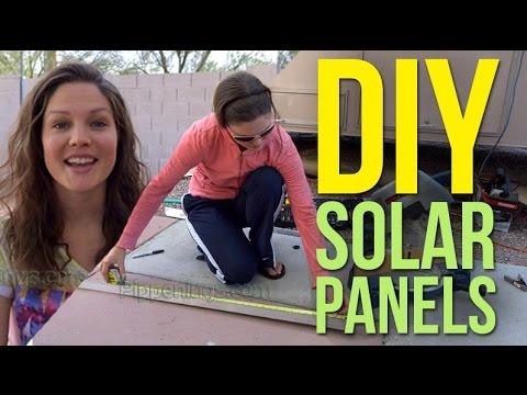DIY Build Solar Panels 1/2: Homemade from Scratch