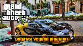 GTA 5: Bugatti Veyron Location (Truffade Adder)