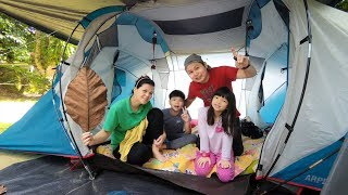 Family Camping in the Forest 2018