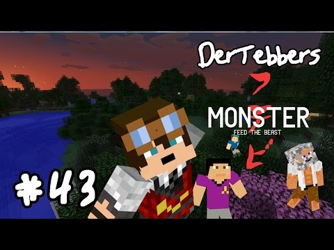 Minecraft FTB Monster - 043 - It's a Barn Raising Part 4