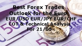 Forex Best Trades EUR/USD EUR/JPY EUR/CHF COT & Technical Analysis 21/05