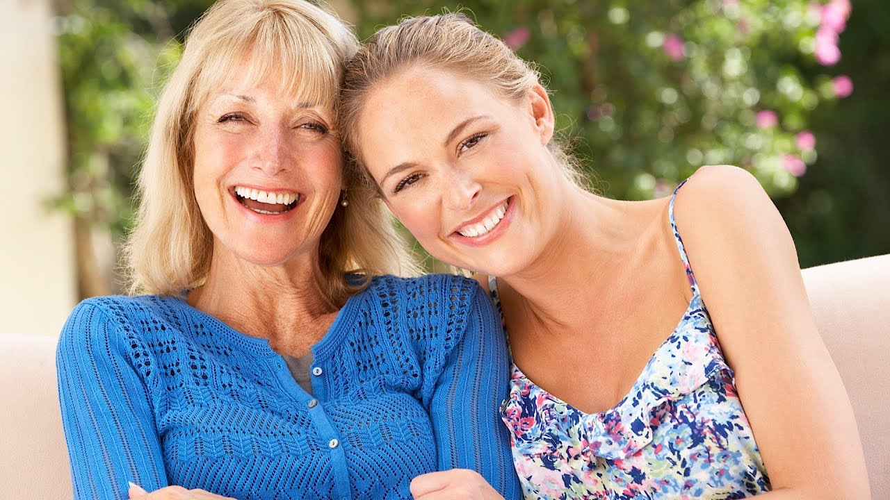 С мамой и дочкой 10 фотография