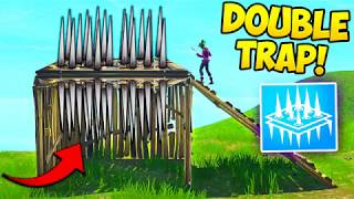 THE *NEW* DOUBLE TRAP TRICK! - Fortnite Funny Fails and WTF Moments! #237 (Daily Moments)