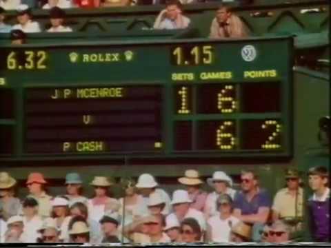 ウィンブルドン 1984 - ジョン マッケンロー vs Pat Cash