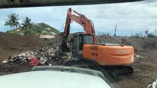 Hitachi Excavator In Action