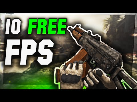 TOP 10 Free PC FPS GAMES (2016 - 2017) NEW!!