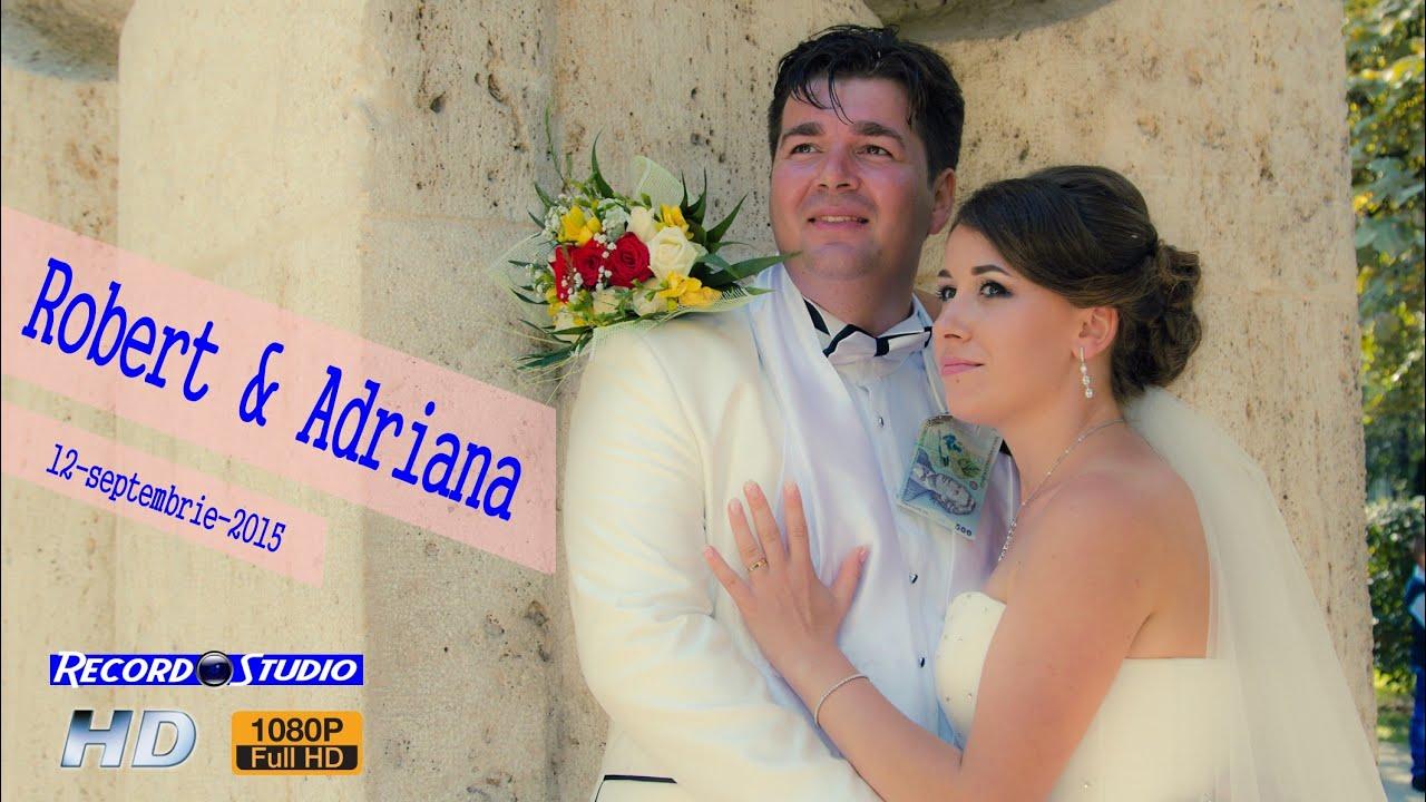 Clip Nunta Robert si Adriana - Bilteni / Rovinari 12-09-2015 [ RECORD STUDIO ]