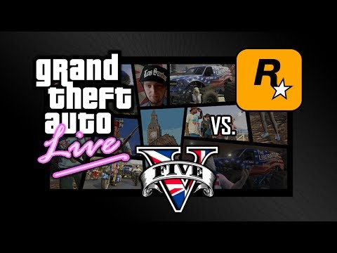 GTA V o'Clock live - Independence Day Special - UK vs USA Feat RockStar