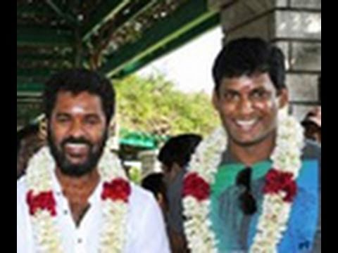 Prabhudeva and Vishal in Vedi