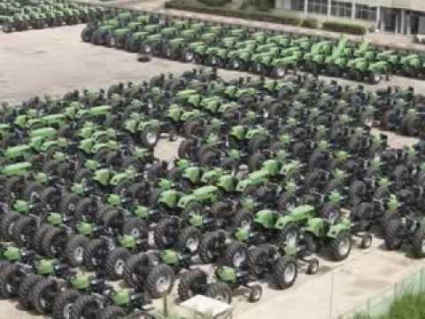 CMT  Deutz Tractor fabricage