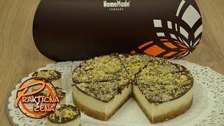 Praktična žena - Sirova torta od limuna i indijskih oraha