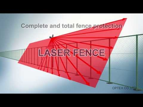 REDSCAN LASER FENCE   PERIMETER SECURITY
