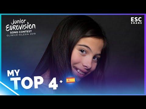 Junior Eurovision 2019: My TOP 4 (So far)