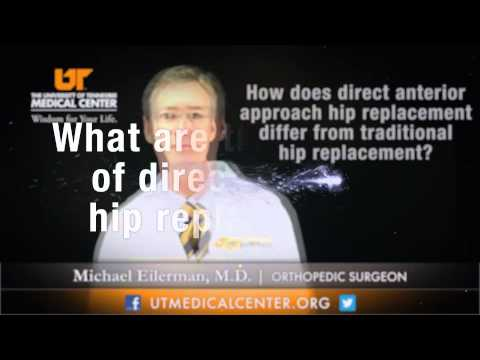 Medical Moment: Direct Anterior Hip Replacement
