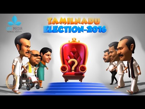 Tamilnadu Election 2016 Animation