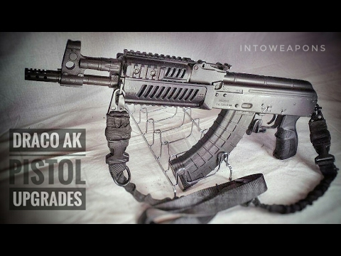 Draco AK-47 pistol - Upgrade final overview / Shooting (Draco-c - Draco ak)