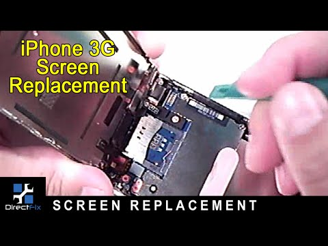 iPhone 3G Disassembly & Screen Replacement Directions by DirectFix.com