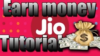 How To Earn Money from Jio | Earn money from reliance jio |