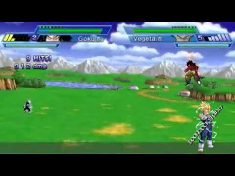DBZ Shin Budokai 2 - All Character Movesets (Reuploaded)