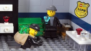 Lego Bank Robbery - Secret Tunnel Stop Motion Animation