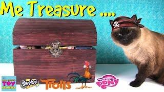 Simon's Blind Bag Treasure Chest #33 Trolls Twozies Disney Shopkins Toy   PSToyReviews