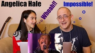 "Angelica Hale STUNS the Judges singing ""Impossible"" on AGT Champions - Finals! 