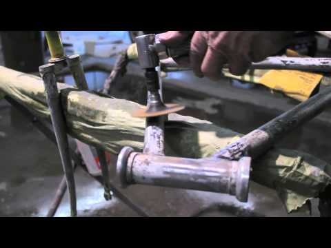 Locked In: How to Paint / Restore Your Bike Frame Part 1