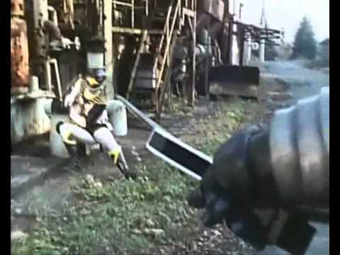 Choujin Sentai Jetman - Black Condor vs. Grey