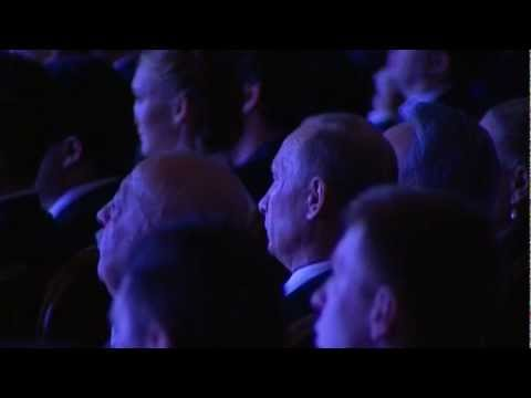 Kazakhstan Russian Presidents Visit a Music Concert in the Bolshoi Theater, after Trade Talks!
