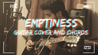 Emptiness | Guitar cover with Chords feat. Ravi Zharotia | Chordsguru