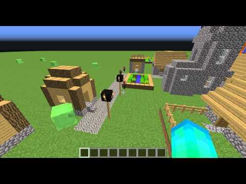 Minecraft: Villager doing a barrel roll