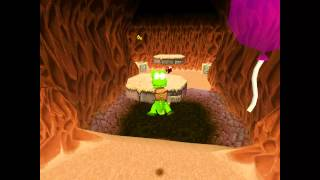 Croc Legend of the Gobbos [PSX] 100% - Level 3-4 Sand and Freedom