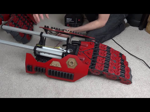 XRobots - Iron Man Hulkbuster Cosplay Suit Part 9, Mechanics and Motors
