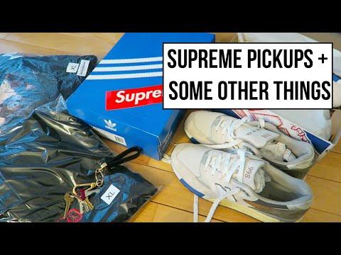 Latest Pickup Videos! Supreme, Rare New Balance, Just Don!