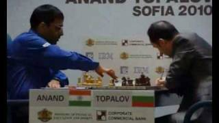 Anand - Topalov (WCC Final Match) (25.04.2010)