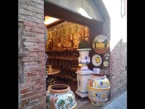 San Gimignano Tuscany Italy in October
